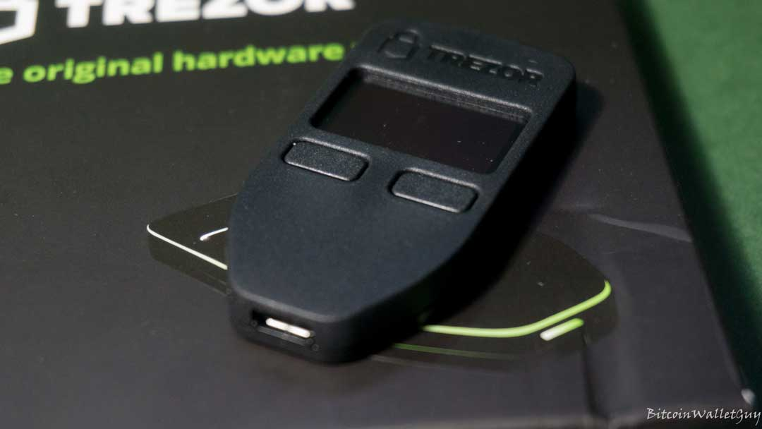 Trezor one bitcoin hardware wallet review bitcoin shirt getting started ccuart Images